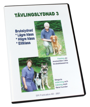 DVD Tävlingslydnad 3 (ej uppdaterad efter nya regler)