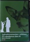 DVD Elitlydnad, Lydnadsmomenten i elitklass (speltid ca 79 min)