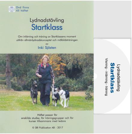 Lydnadstävling Startklass med DVD 2017